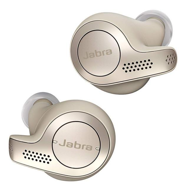 Jabra Elite 65t True Wireless In Ear Headphones - Gold Beige