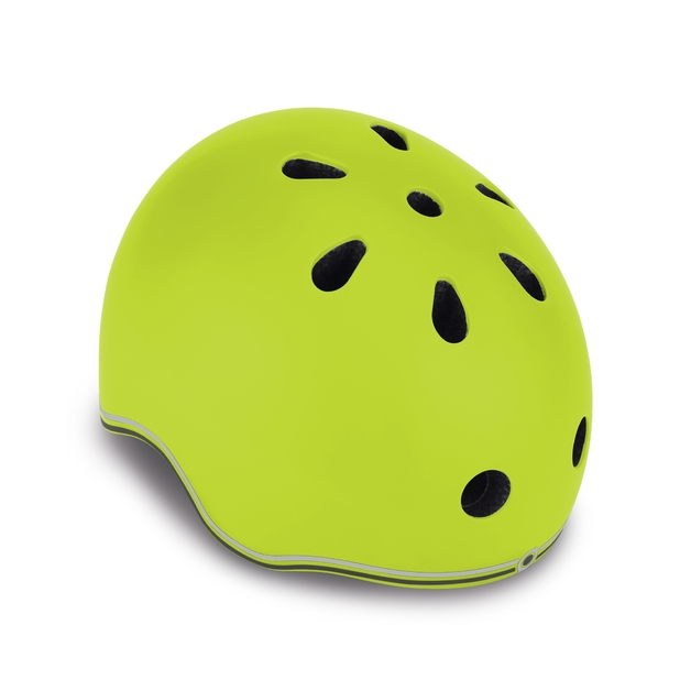 Globber: Protective Helmet with LED - Toddler XS (Lime Green)