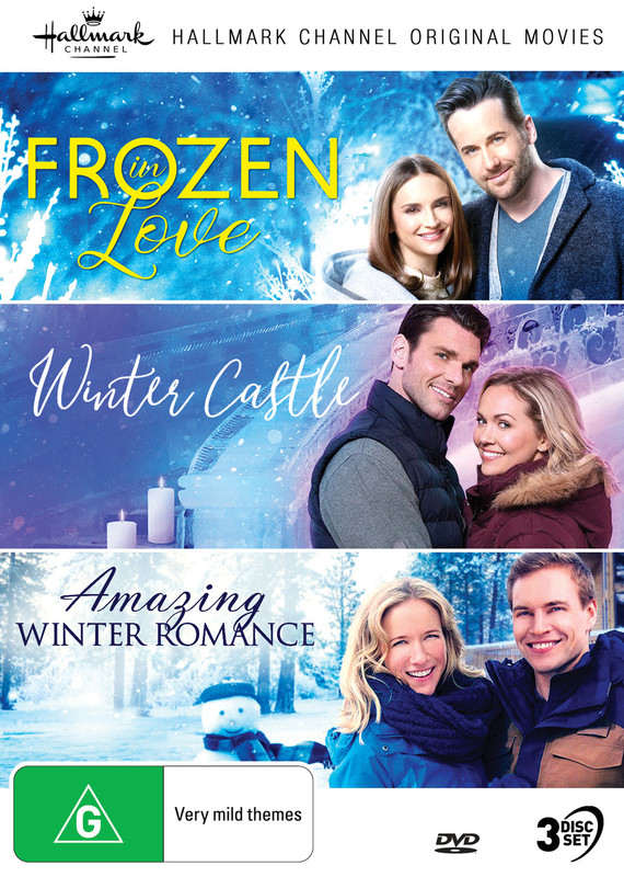Hallmark Collection 7: Frozen In Love / Winter Castle / Amazing Winter Romance on DVD