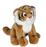 Brown Tiger Plush 20cm