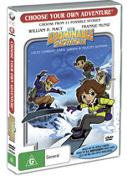 Choose Your Own Adventure: The Abominable Snowman on DVD