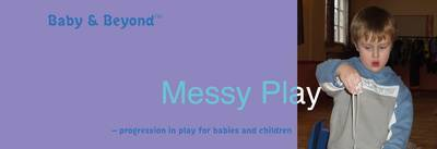 Messy Play by Sally Featherstone image