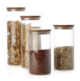 Maxwell & Williams - Peek Bamboo Canisters (Set of 4)