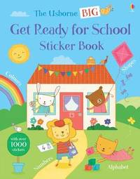 Big Get Ready for School Sticker Book by Jessica Greenwell