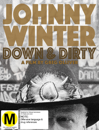 Johnny Winter: Down & Dirty on DVD