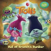 Trolls Deluxe Pictureback with Stickers (DreamWorks Trolls) by Random House