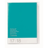 Colours 2018 Weekly A5 Diary - Turquoise