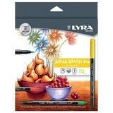 Lyra - Aqua Brush Duo - 12 Pack