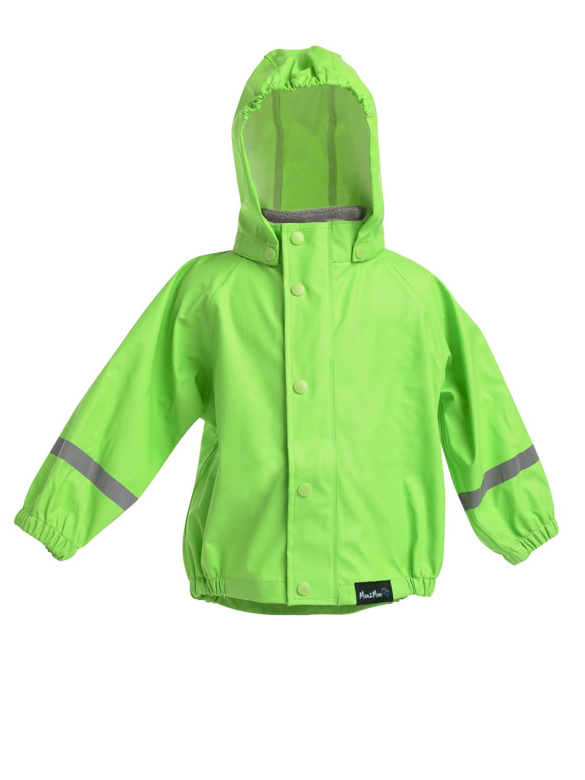 Mum 2 Mum Rain Wear Jacket - Lime (2 Years) image