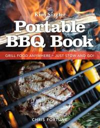 Kiwi Sizzler Bbq Book by Chris Fortune image