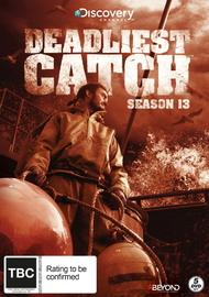 Deadliest Catch - Season 13 on DVD
