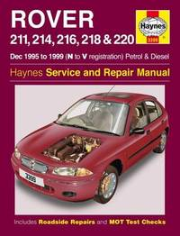 Haynes service and repair manuals products at mighty ape nz rover 200 series petrol and diesel by spencer drayton fandeluxe Image collections