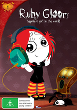 Ruby Gloom - Happiest Girl In The World: Vol. 1 on DVD