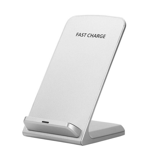 Wireless Smartphone Charger Stand Dock - White