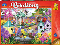 Holdson: 1000 Piece Puzzle - Birdsong (Home in a Victorian Garden)