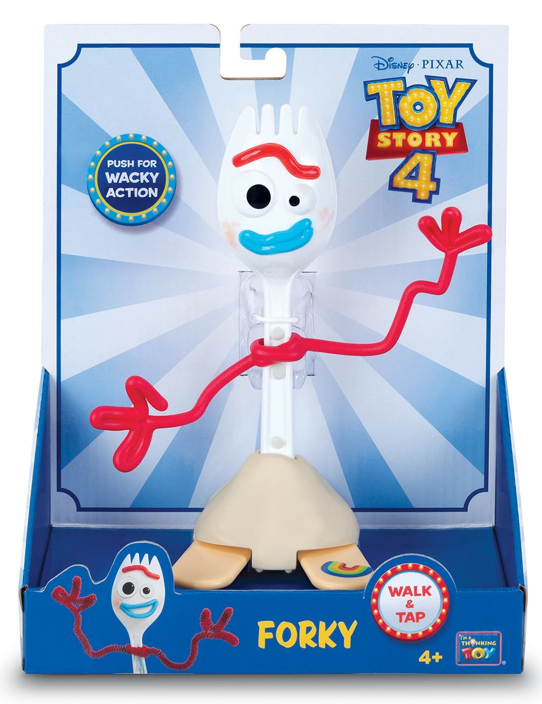 """Toy Story 4: Forky - 7"""" Action Figure image"""