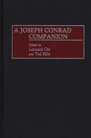 A Joseph Conrad Companion by Ted Billy