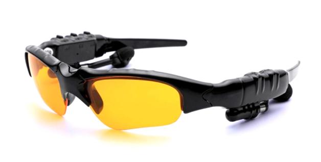 Stereo Headset Sunglasses Bluetooth: 4.1 - Yellow
