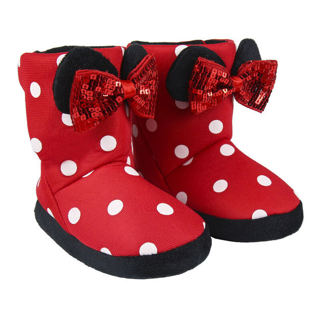 Disney: Minnie Mouse Kids - Boot Slippers (Size: 30/31 Euro)