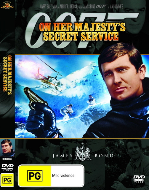 James Bond - On Her Majesty's Secret Service on DVD