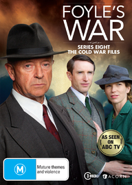 Foyle's War - Season 8 (3 Disc Set) on DVD image