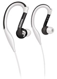 Philips Sport-Hook Washable Headphones (White)