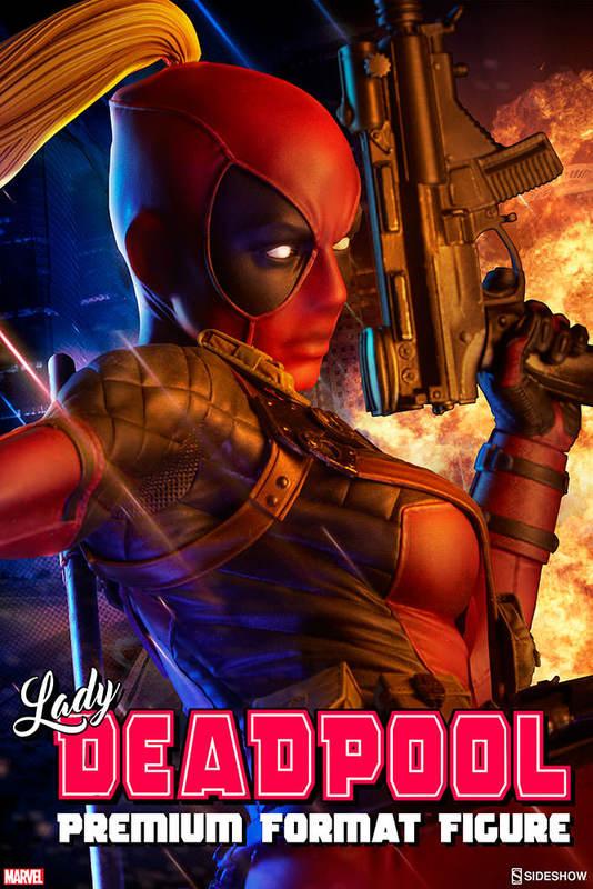 Marvel: Lady Deadpool - Premium Format Figure