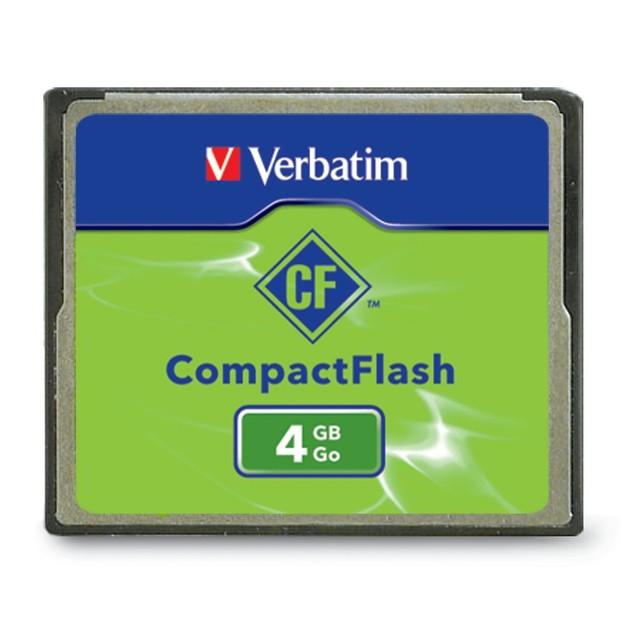 Verbatim CompactFlash Card - 4GB