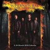 Supernatural 2018 Wall Calendar