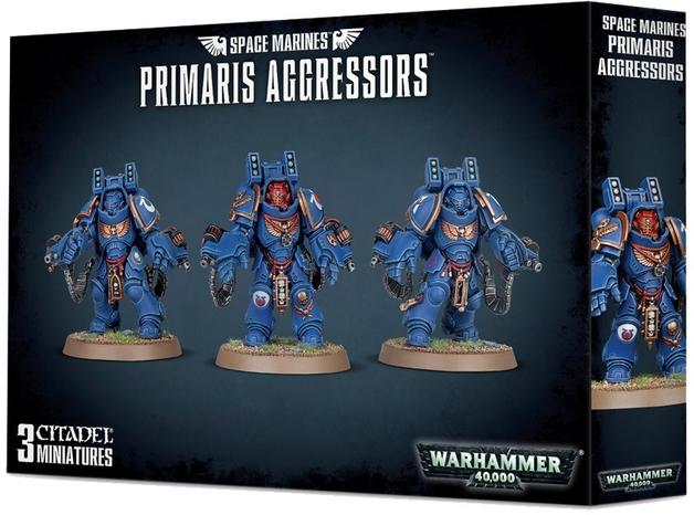 Warhammer 40,000 : Space Marine Primaris Aggressors