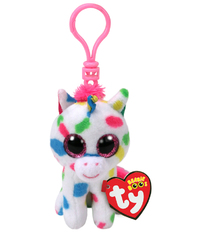 Ty Beanie Boos: Harmonie Unicorn - Clip On Plush