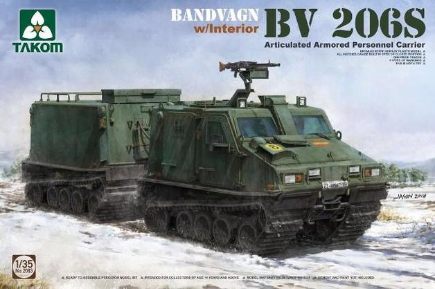 Takom: 1/35 Bv206S Articulated Armoured Personnel Carrier Model Kit