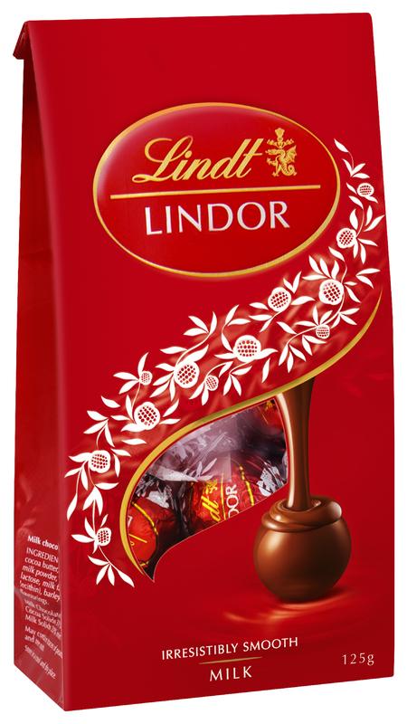 Lindt: Lindor Milk Chocolate Bag (125g)