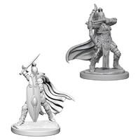 Pathfinder Deep Cuts: Unpainted Miniature Figures - Female Knights/Gray Maidens