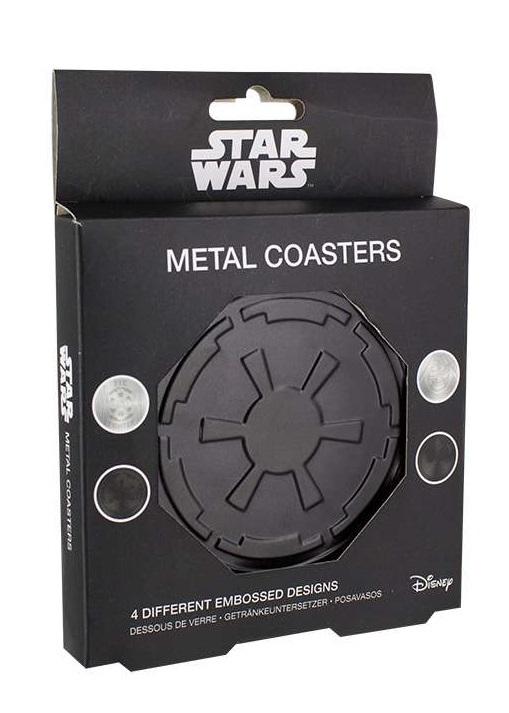 Star Wars - Metal Coasters Set (Set of 4) image