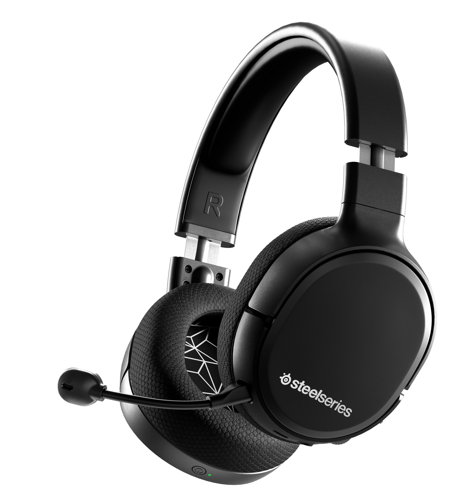 SteelSeries Arctis 1 Wireless Gaming Headset (Black) screenshot