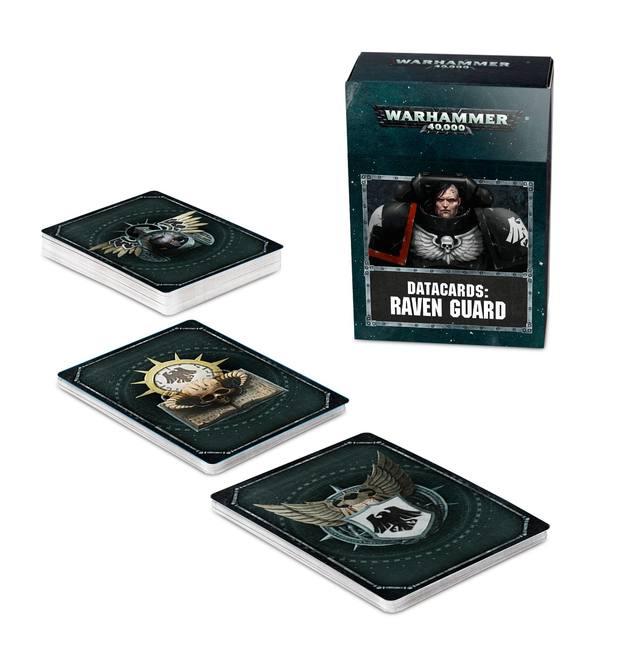 Warhammer 40,000: Raven Guard - Datacards