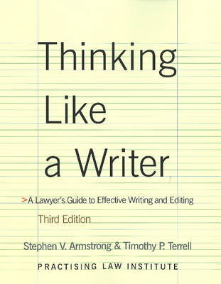 Thinking Like a Writer by Stephen Armstrong image