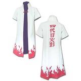 Naruto: Fourth Hokage Minato Namakaze Coat - Small