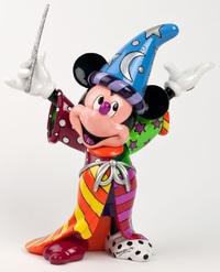 Romero Britto - Sorcerer Mickey Mouse Figurine Large image