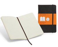 Moleskine Ruled Notebook (Large, Soft, Black) image