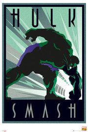 Marvel Retro Hulk Maxi Wall Poster (257)