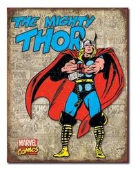 Marvel: The Mighty Thor - Retro Tin Sign