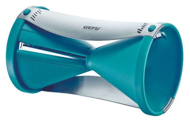 GEFU: Spirelli Spiral Cutter - Aqua