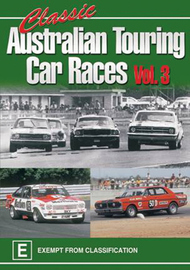 Classic Australian Touring Car Races - Vol. 3 on DVD image