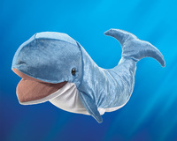 Folkmanis: Hand Puppet - Whale