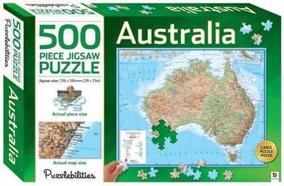 Puzzlebilities: 500 Piece Puzzle - Australia image