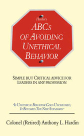 Hardin's ABCs of Avoiding Unethical Behavior by Anthony, L. Hardin image