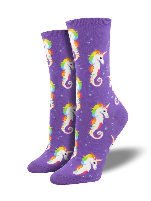 Socksmith: Sea Unicorn - Purple