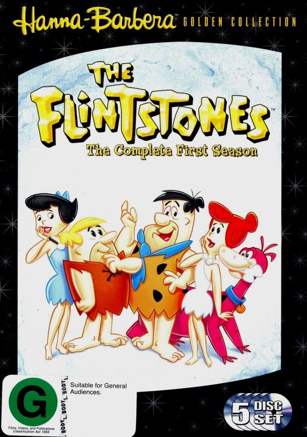 Flintstones, The - Season 1 (5 Disc Box Set) on DVD image